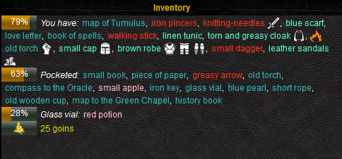 Client inventory